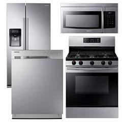 Samsung 4-pc. Gas Kitchen Package