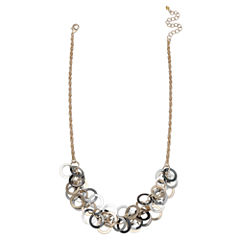 Bold Elements Womens 16 1/2 Inch Link Necklace