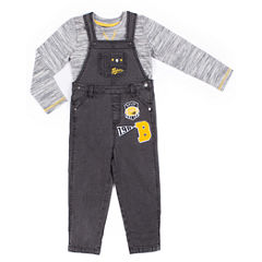 Little Lass 2-pc. Overall Set-Baby Boys