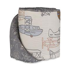 Living Textiles Aeroplanes Baby Bumper