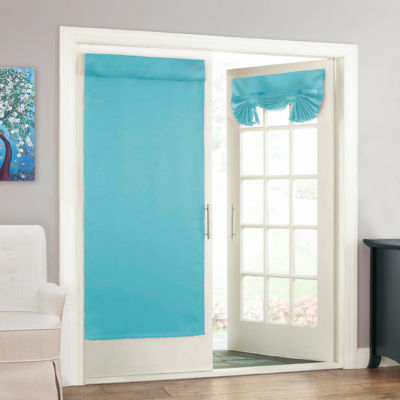 eclipse tricia 26x68 rod pocket door panel curtain