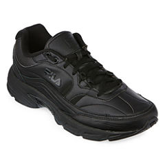 Fila® Memory Workshift Mens Slip-Resistant Work Shoes