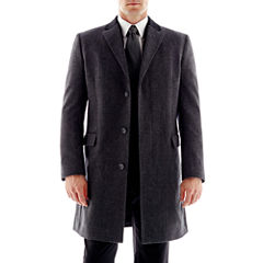 Stafford Contrast-Collar Topcoat