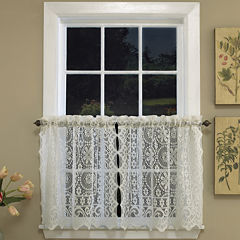 Hopewell Rod-Pocket Window Tiers