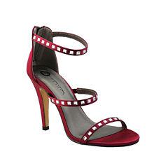 Michael Antonio Roped Womens Heeled Sandals
