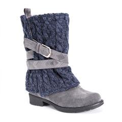 Muk Luks Nikita Womens Water Resistant Winter Boots