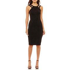 Bisou Sleeveless Sheath Dress