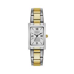 Caravelle Womens Two Tone Bracelet Watch-45l167