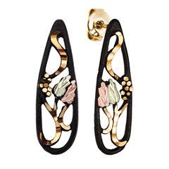 Landstroms Black Hills Gold Drop Earrings