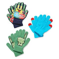Minus Zero Boys Cold Weather Gloves- Boys Big Kid