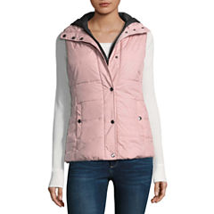 Arizona Puffer Vest With Hood-Juniors
