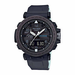 Casio Mens Black Strap Watch-Prg650y-1