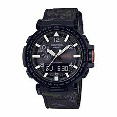 Casio Mens Black Strap Watch-Prg650ybe-3