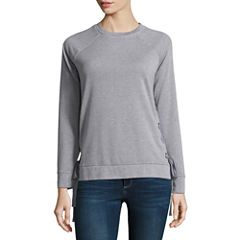 a.n.a Long Sleeve Pullover Sweater-Talls