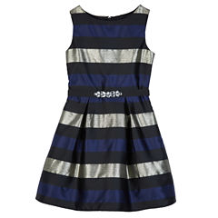 by&by girl Sleeveless Party Dress - Big Kid Girls