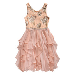 Emily West Sleeveless Peplum Dress - Big Kid Girls