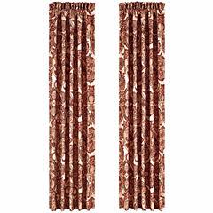 Queen Street Reese Tie-Top Curtain Panel