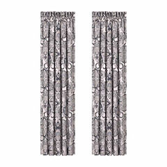 Queen Street Giselle Rod-Pocket Curtain Panel
