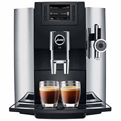 JURA® E8 Chrome Automatic Coffee Machine