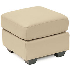 Leather Possibilities Ottoman