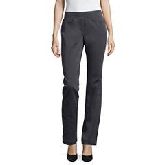 Liz Claiborne Pull-On Pants-Talls