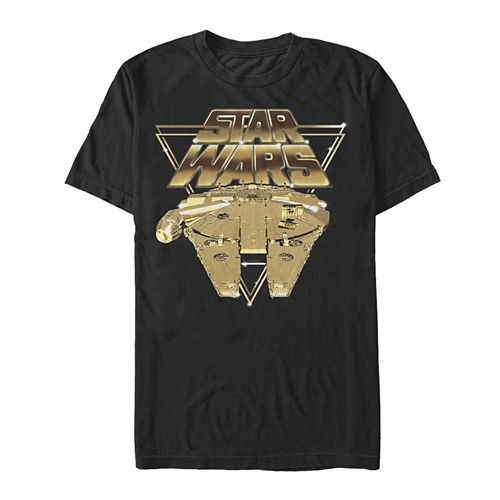 Star Wars Episode 8 Short Sleeve Star Wars Tv   Movies Graphic T-Shirt-Big and Tall