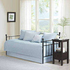 Madison Park Mansfield Quilted Ogee 6-pc. Daybed Cover Set