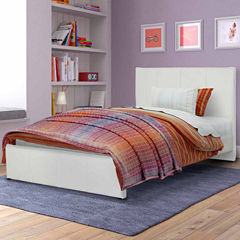 Transition Fairfield Bonded Leather Bed