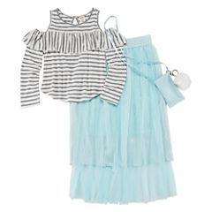 Arizona 2-pc. Skirt Set Big Kid Girls