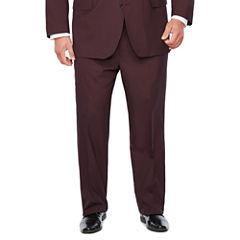 J. Ferrar Merlot Suit Separates-Big and Tall