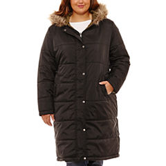 Arizona Heavyweight Puffer Jacket-Juniors Plus