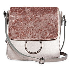 Mini Velvet Flap Crossbody Bag