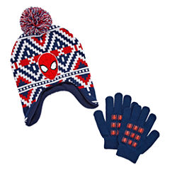 2-pc. Spiderman Hat & Glove Set - Preschool Boys
