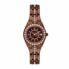 Relic Womens Brown Bracelet Watch-Zr12195