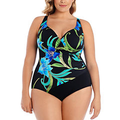 Robby Len By Longitude One Piece Swimsuit Plus