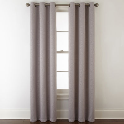 home expressions norris 2pack grommettop curtain panel