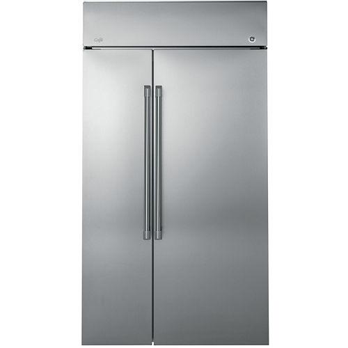 GE Cafe Series 29.6 cu. ft. 48 Built-In Side-by-Side Refrigerator