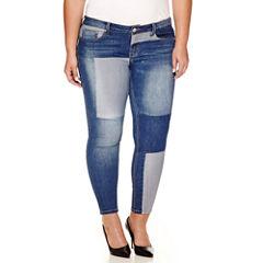 Love Indigo Skinny Crop Jeans