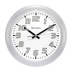 Westclox Translucent Wall Clock