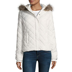 Arizona Diamond Quilt Puffer Jacket - Juniors