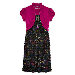 Speechless® Eyelash Dress - Girls Plus