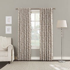 Sun Zero Kamila Blackout Back-Tab Curtain Panel