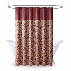 Madison Park Churchill Jacquard Shower Curtain