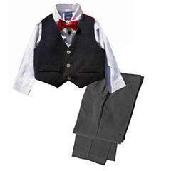 Hudson Ferrell 4-pc. Pant Set Baby Boys
