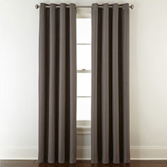 Apollo Blackout Grommet-Top Curtain Panel