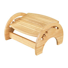 KidKraft® Adjustable Stool for Nursing - Natural