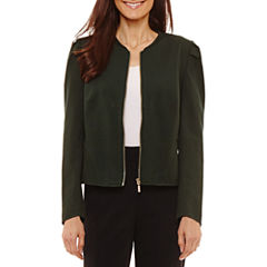 Worthington Cropped Jacket-Petites
