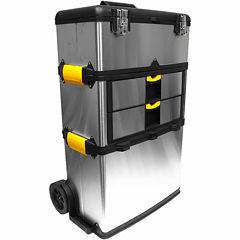 Stalwart™ Massive & Mobile 3-Part Tool Box