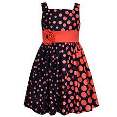 Bonnie Jean Sleeveless Drop Waist Dress - Toddler Girls