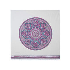 Intelligent Design Candice Soft Floral 90x90 Tapestry